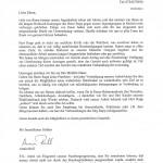 Pfadfinder - Elternbrief