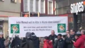 Freitags gegen Altersarmut – Mahnwache Karlsruhe