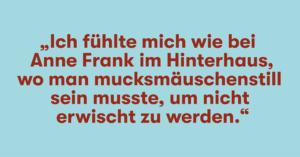 Querdenken721 und Reaktionen auf den Anne-Frank-Vergleich