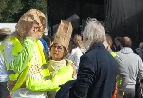 Polizei Karlsruhe antwortet nicht wahrheitsgemäß auf Beschwerde nach Querdenkerkundgebung