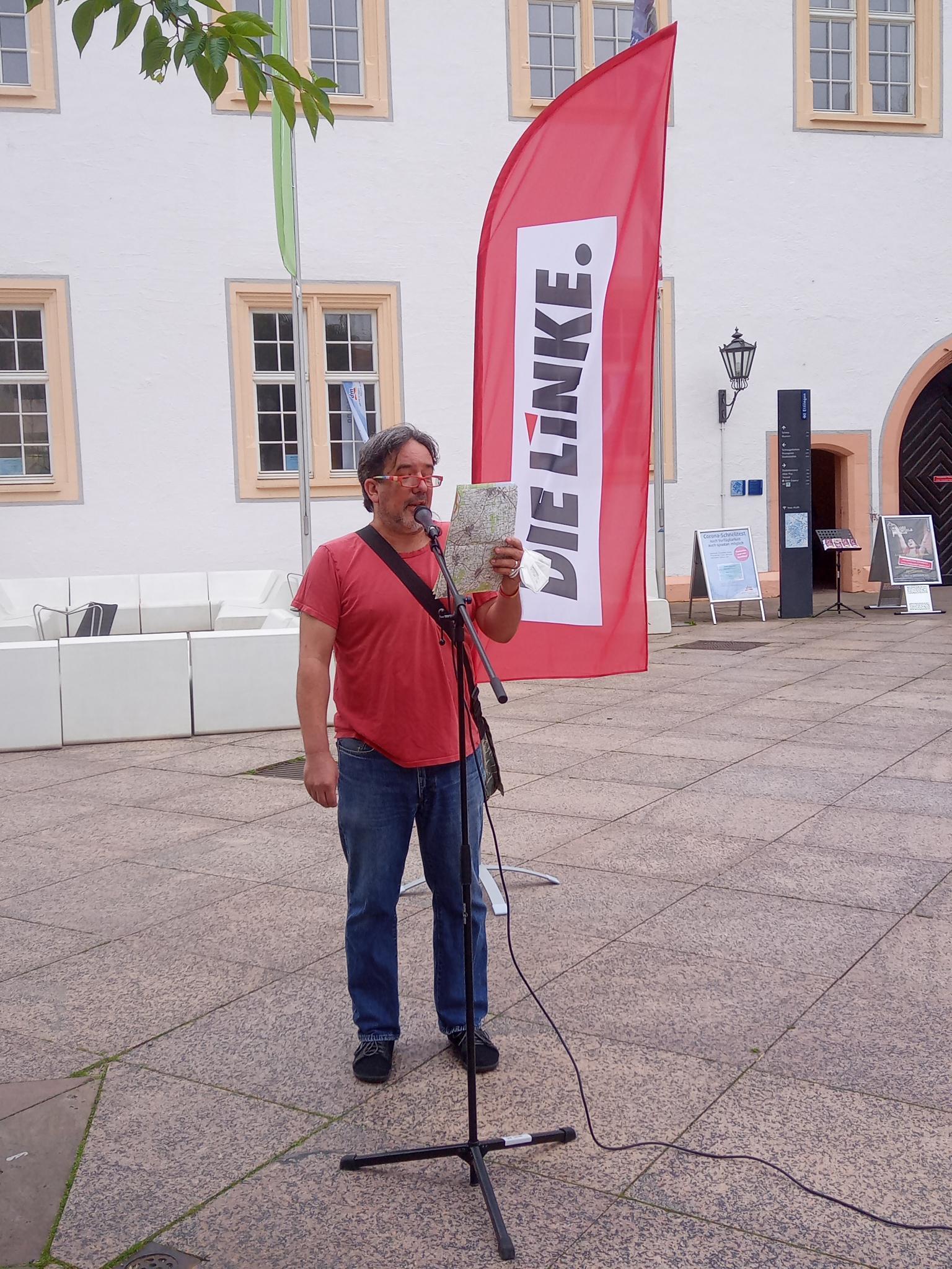 Read more about the article Rede zum Wahlkampfauftakt am 17.7. in Ettlingen